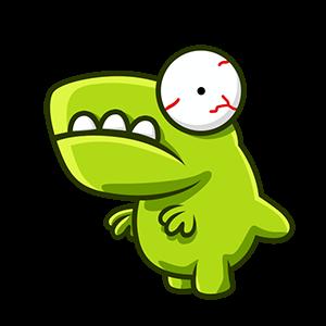 Crazy Dino Park messages sticker-5