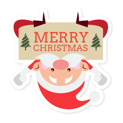 Emoji Noel christmas messages sticker-1