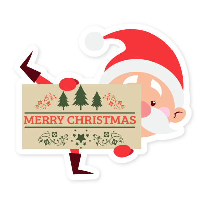 Emoji Noel christmas messages sticker-3