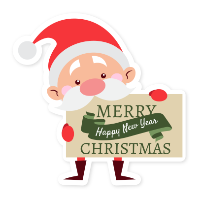 Emoji Noel christmas messages sticker-2