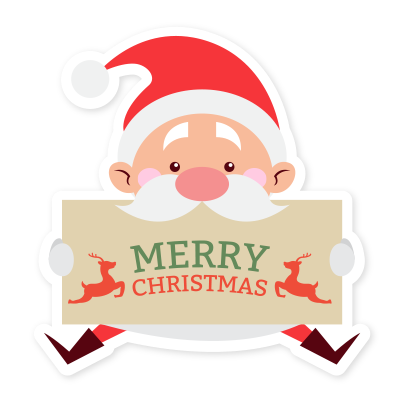 Emoji Noel christmas messages sticker-0