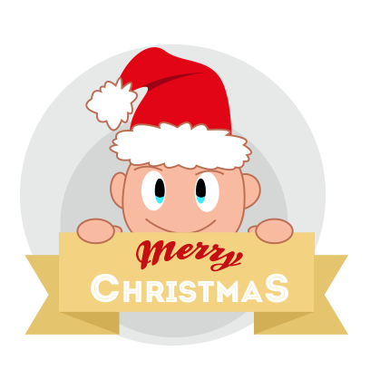 Baby emoji Mery Christmas messages sticker-0