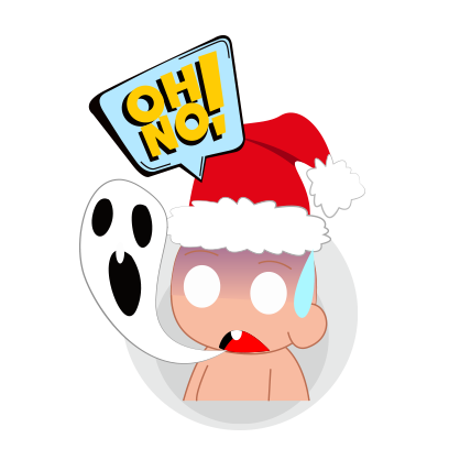 Baby emoji Mery Christmas messages sticker-6