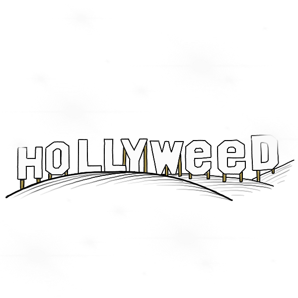 Hollyweed messages sticker-0