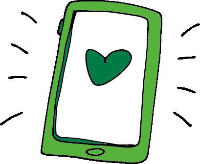 Bajen i luren by Tele2 messages sticker-2