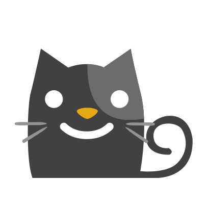 Facial Cat sticker for iMessage messages sticker-1