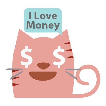 Facial Cat sticker for iMessage messages sticker-10
