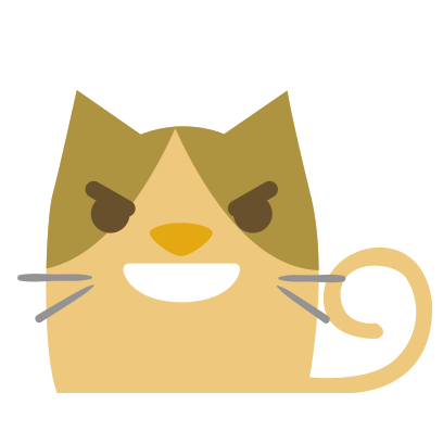 Facial Cat sticker for iMessage messages sticker-4
