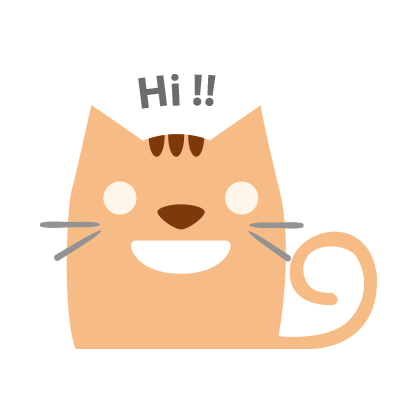 Facial Cat sticker for iMessage messages sticker-0