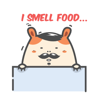 Cartoon Hamster Sticker Pack messages sticker-1