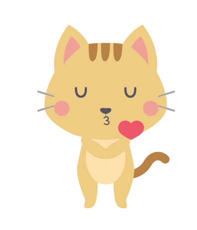Cute Cat Lipsy messages sticker-6