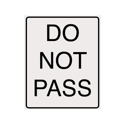 Traffic Signz messages sticker-8