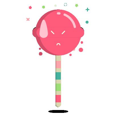 Ezy the Lollipop messages sticker-2