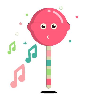 Ezy the Lollipop messages sticker-8