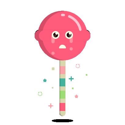 Ezy the Lollipop messages sticker-11