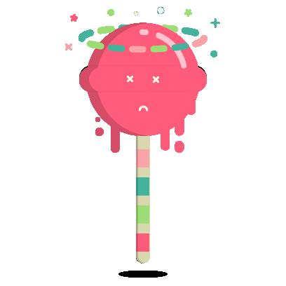 Ezy the Lollipop messages sticker-1