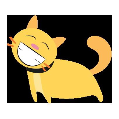 lovely Cats Sticker messages sticker-11