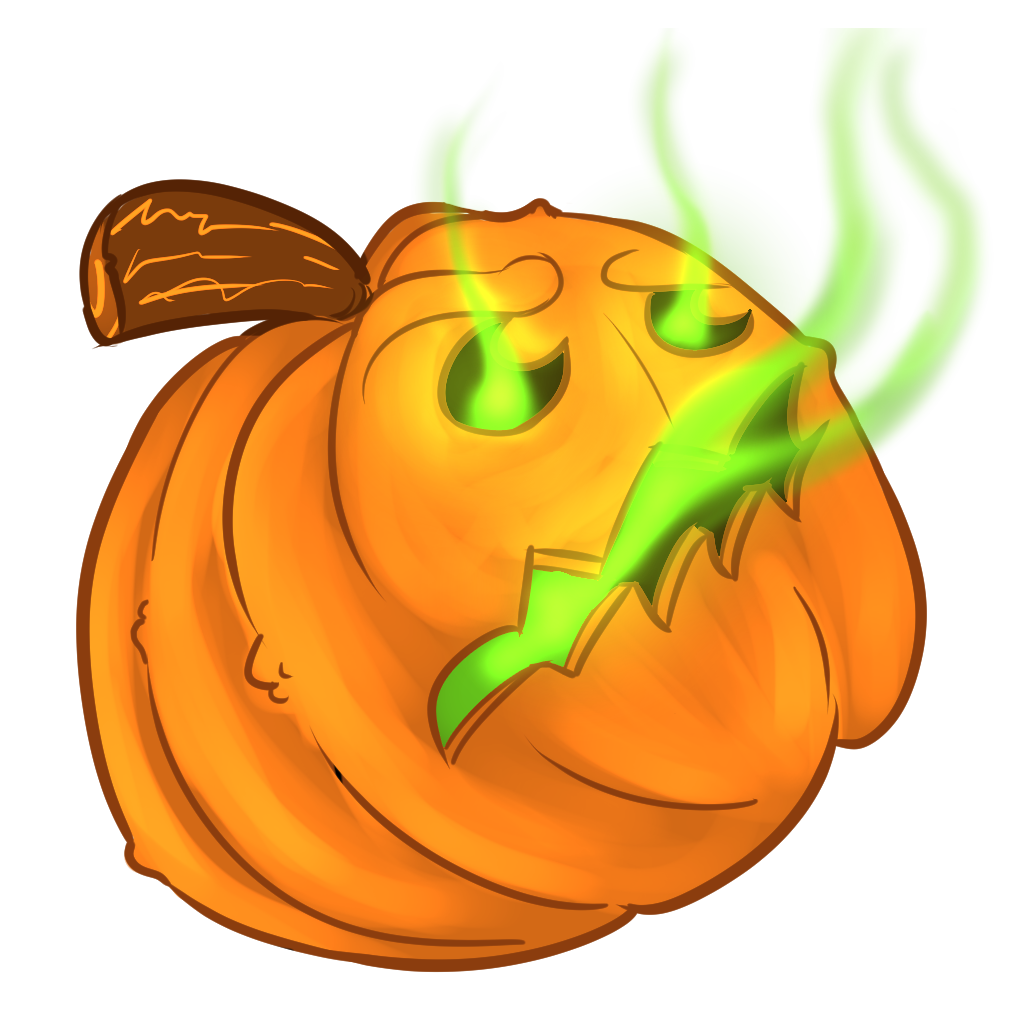 Halloween Pumpkins Sticker Pack messages sticker-6