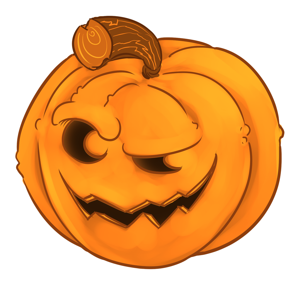 Halloween Pumpkins Sticker Pack messages sticker-2