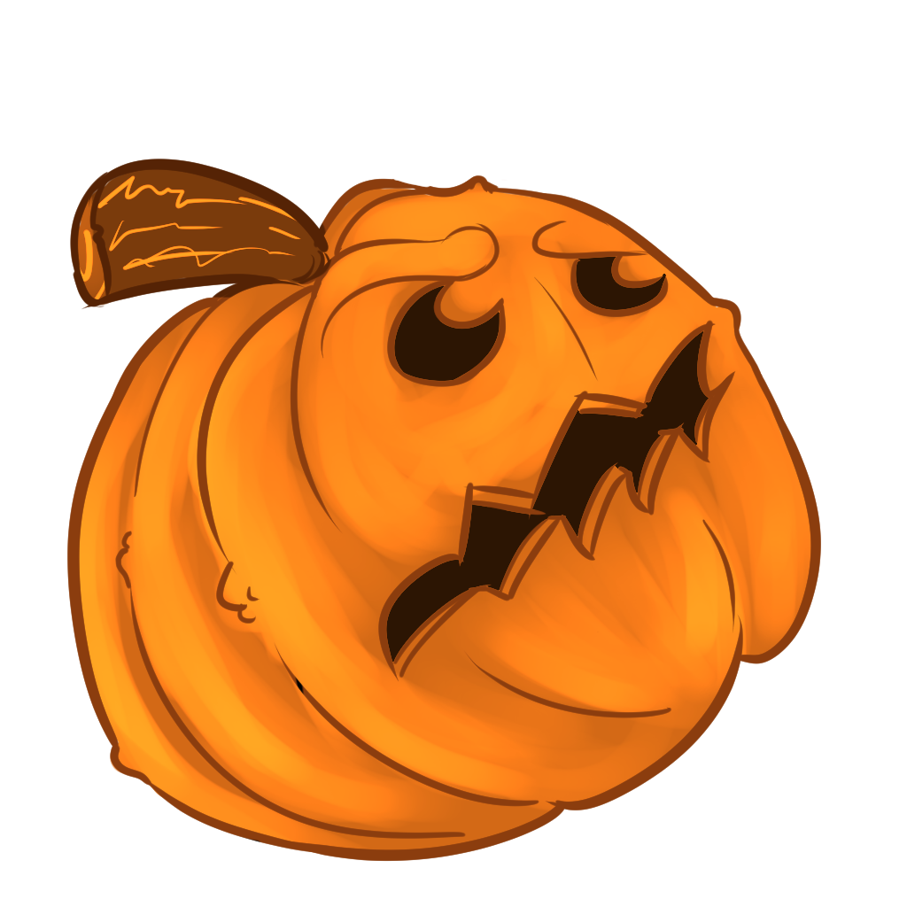 Halloween Pumpkins Sticker Pack messages sticker-1