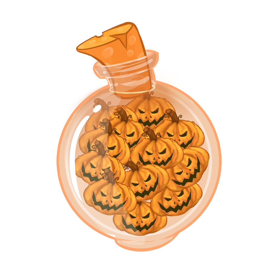 Halloween Pumpkins Sticker Pack messages sticker-9