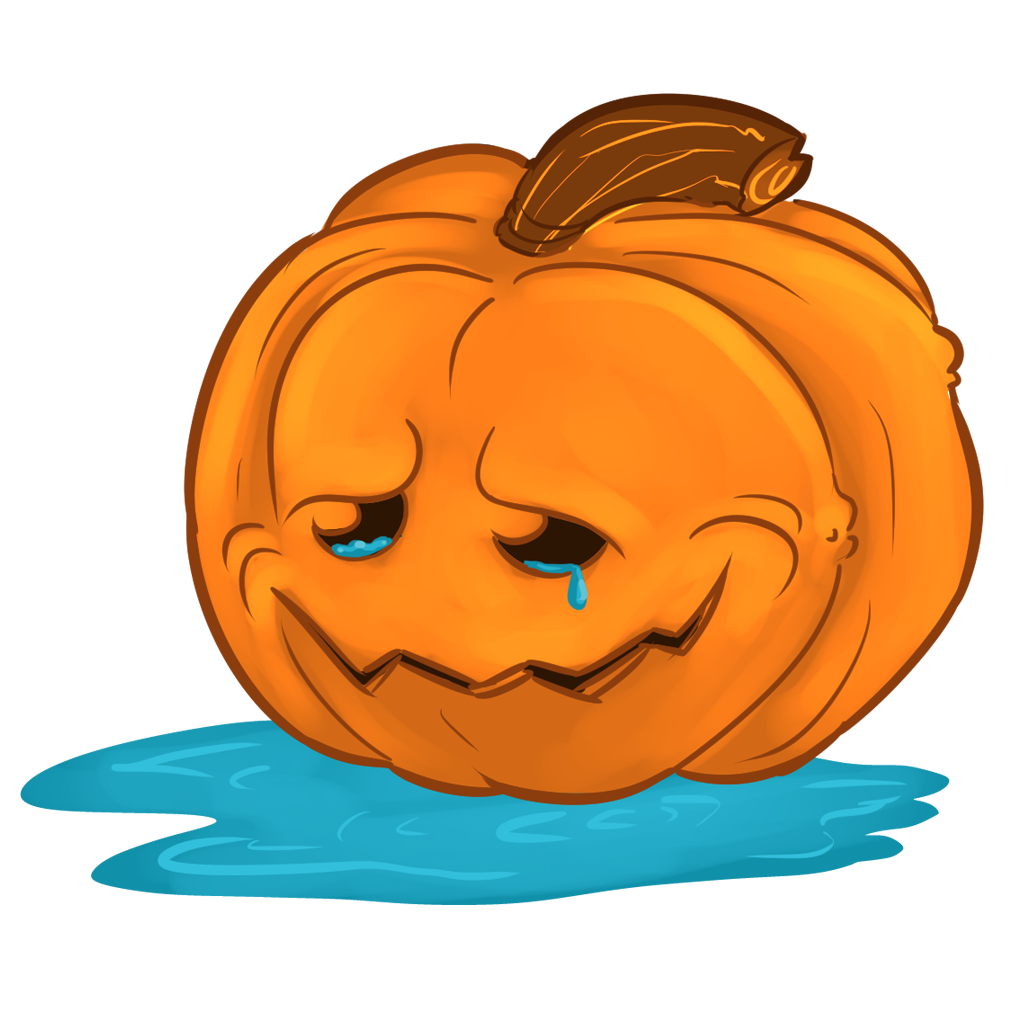 Halloween Pumpkins Sticker Pack messages sticker-7