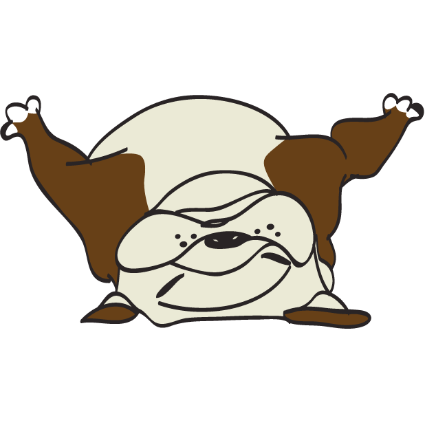 Austen the Bulldog messages sticker-8
