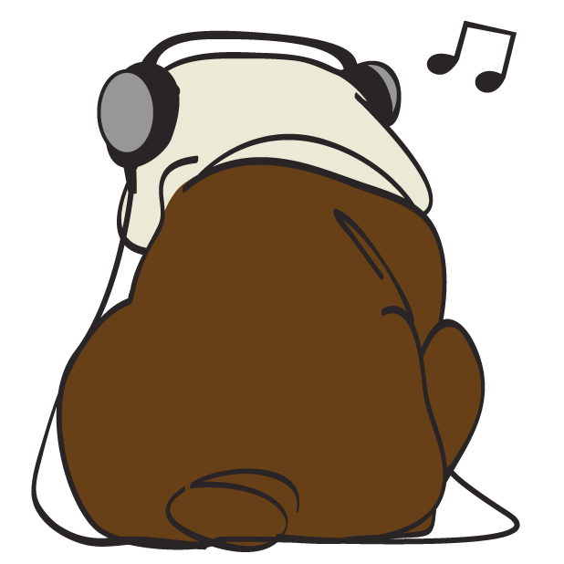 Austen the Bulldog messages sticker-2
