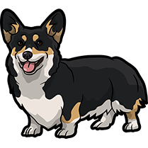 CorgiMojis - Corgi Emoji & Stickers messages sticker-1