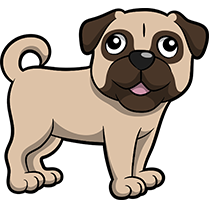 PugMoji - Pug Emoji & Sticker messages sticker-6