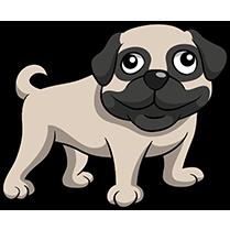 PugMoji - Pug Emoji & Sticker messages sticker-0