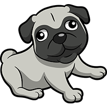 PugMoji - Pug Emoji & Sticker messages sticker-3
