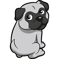 PugMoji - Pug Emoji & Sticker messages sticker-1