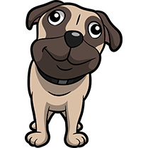 PugMoji - Pug Emoji & Sticker messages sticker-2