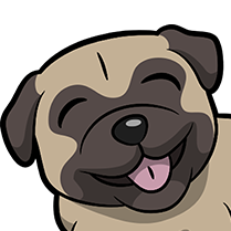 PugMoji - Pug Emoji & Sticker messages sticker-11