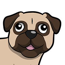 PugMoji - Pug Emoji & Sticker messages sticker-9