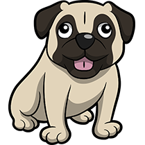 PugMoji - Pug Emoji & Sticker messages sticker-4