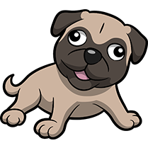 PugMoji - Pug Emoji & Sticker messages sticker-5