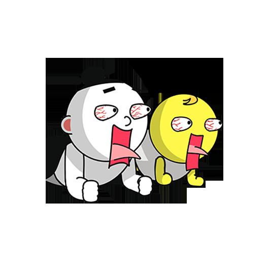 紫微大师和天相星君-表情包贴纸 messages sticker-0