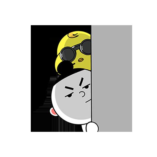 紫微大师和天相星君-表情包贴纸 messages sticker-2
