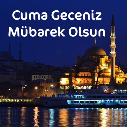 Cuma Mesajları - Resimli Kart Oluştur messages sticker-5
