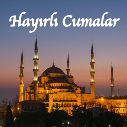Cuma Mesajları - Resimli Kart Oluştur messages sticker-3