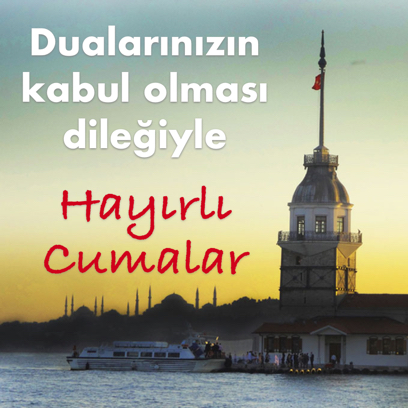 Cuma Mesajları - Resimli Kart Oluştur messages sticker-8