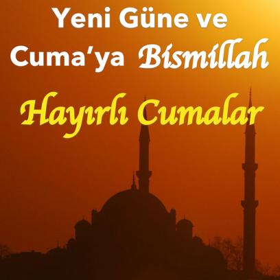 Cuma Mesajları - Kart Oluştur messages sticker-4