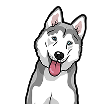 HuskyMoji - Husky Emoji & Sticker messages sticker-3
