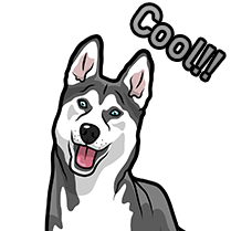 HuskyMoji - Husky Emoji & Sticker messages sticker-11