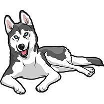 HuskyMoji - Husky Emoji & Sticker messages sticker-5