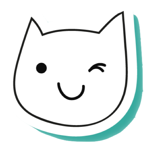 White Cats - funny stickers messages sticker-2