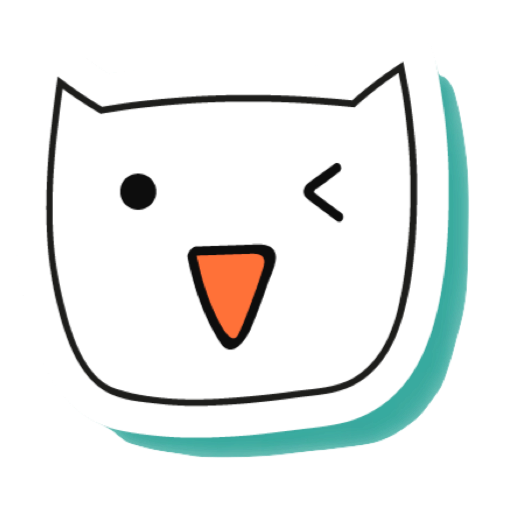 White Cats - funny stickers messages sticker-1