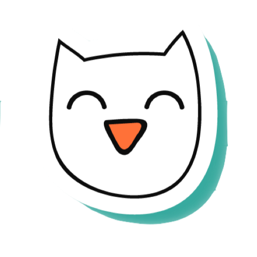 White Cats - funny stickers messages sticker-6